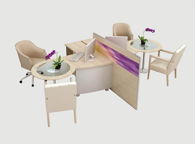 业务洽谈桌椅组合