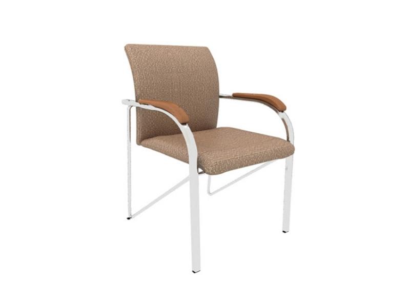棕色仿皮客户座椅