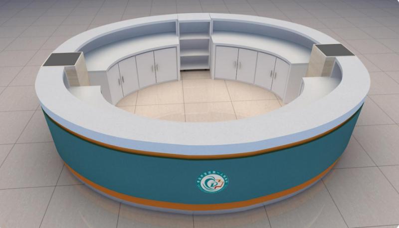 圆形导诊台