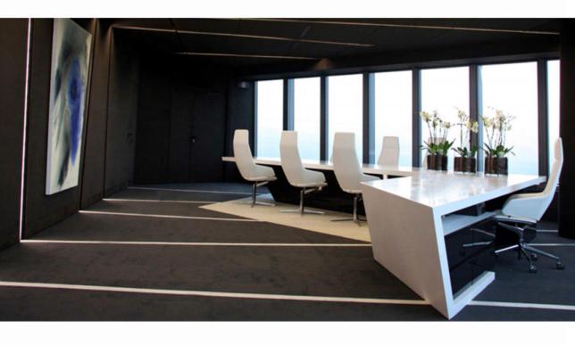 异形会议桌