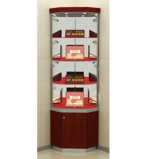 贵宾营销展柜直角式