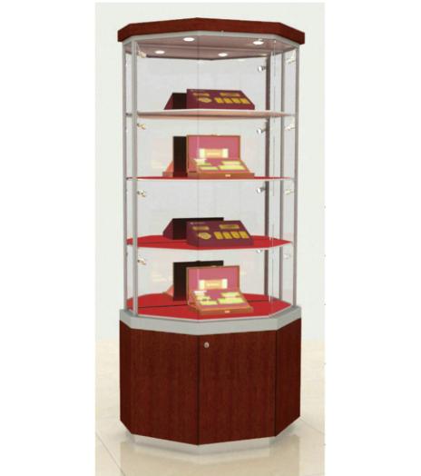 贵宾营销展柜靠墙式(高柜)