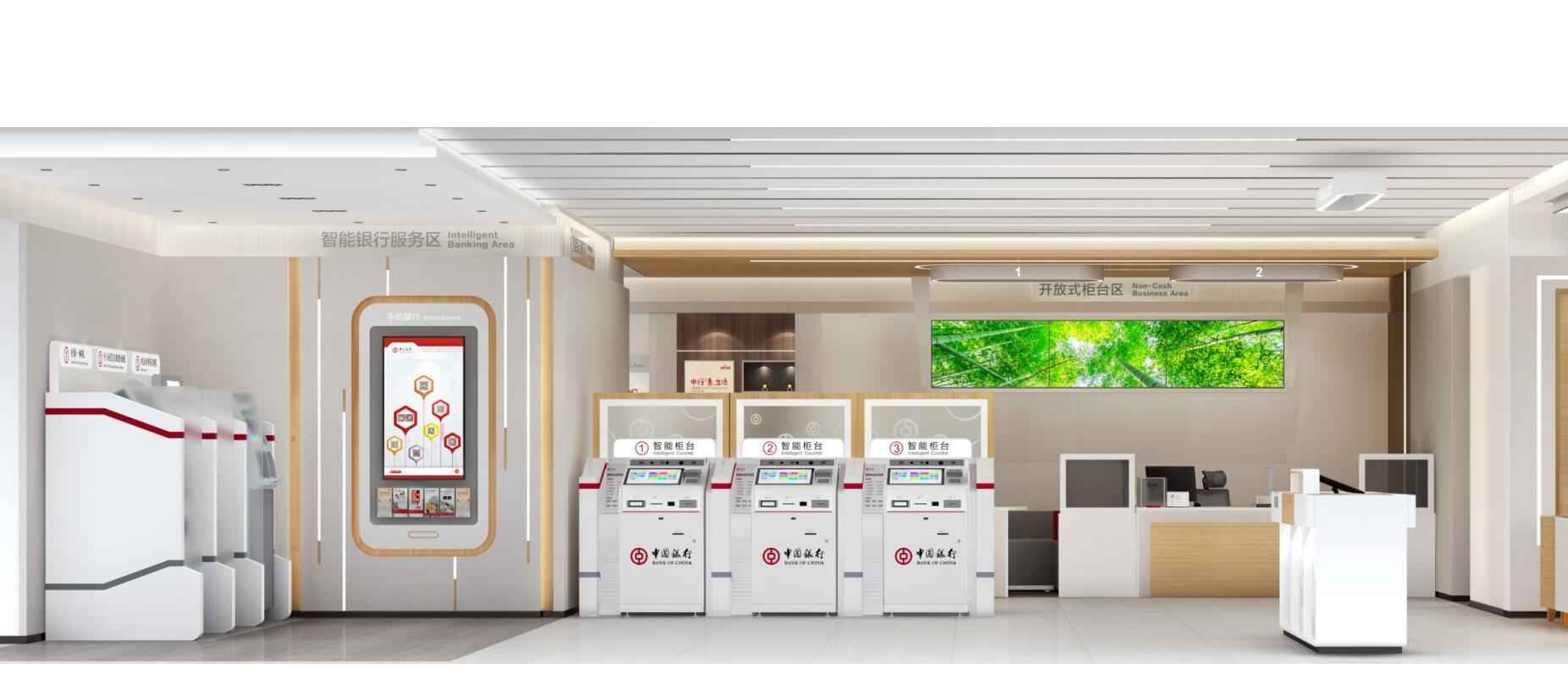 智能银行家具